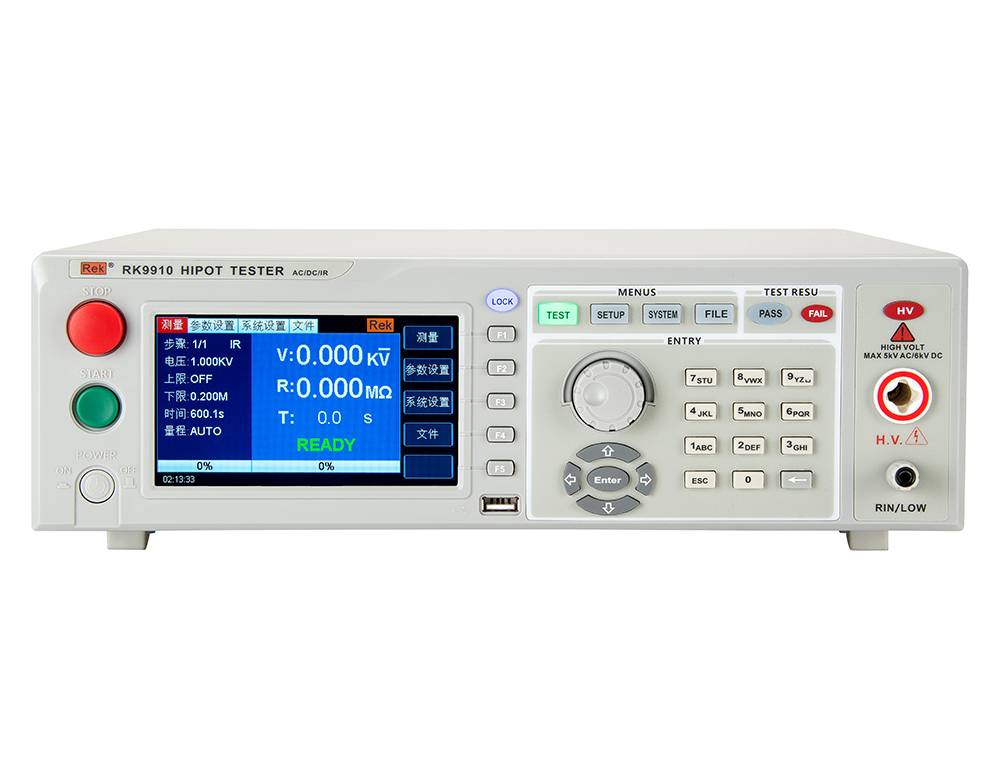 RK9910 AC/DC Withstanding Voltage & Resistance Tester