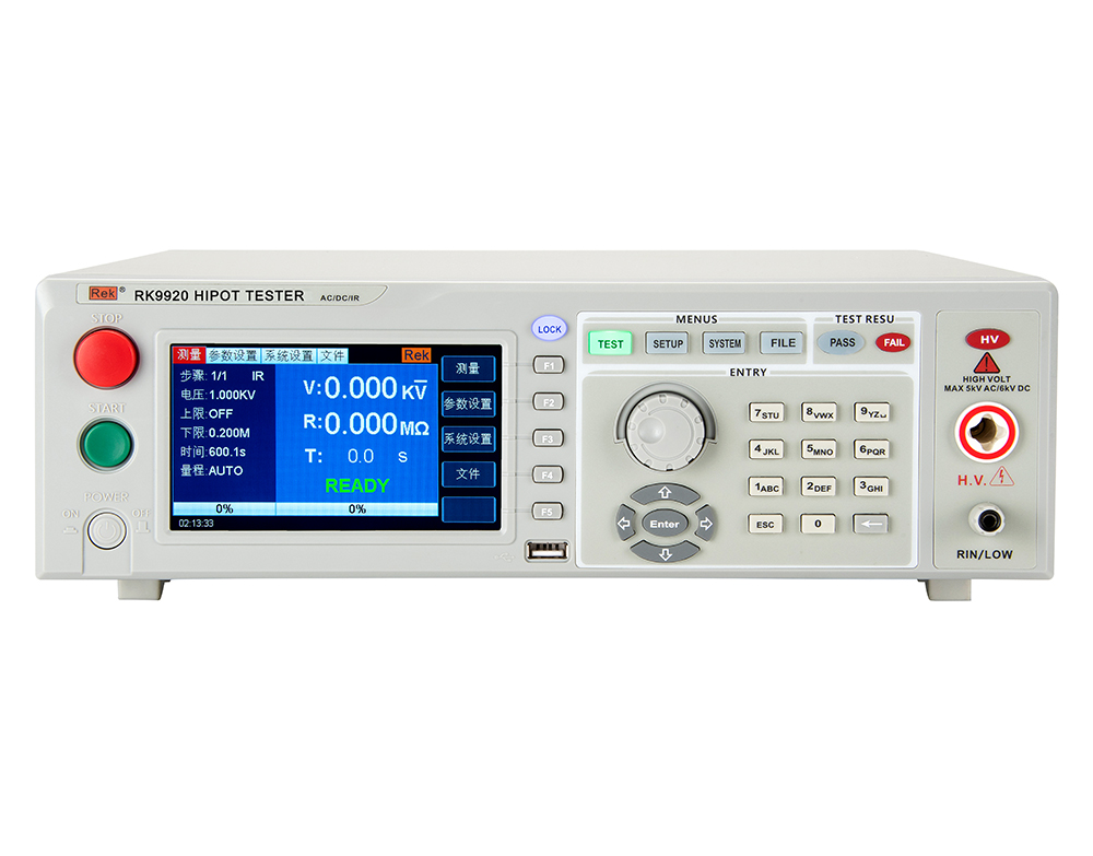 RK9920 AC/DC Withstanding Voltage & Resistance Tester